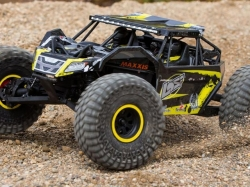 LOSI Rock Rey 4WD gelb Rock Racer 1:10 RTR (mit AVC Techno..