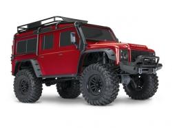 Traxxas TRX4 Land Rover Crawler Rot 1:10 4WD ARTR, RC-Mode..