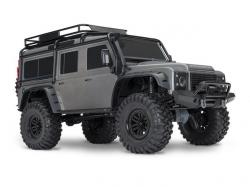 Traxxas TRX4 Land Rover Crawler Grau 1:10 4WD ARTR, RC-Mod..