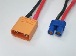 Adapter XT90 Stecker auf EC5 Buchse (1Stk)