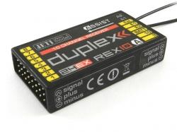 Jeti Empfänger Duplex Rex10A-Assist 2.4Ghz Telemetrie mit ..