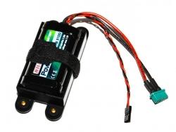 Power Ion RB 3100 7.2V Empfänger Akku inkl. Halterung von Jeti
