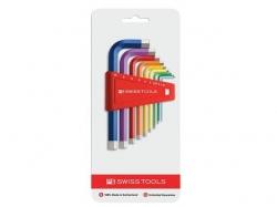 Inbusschlüssel-Satz 9-teilig, Rainbow