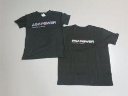 AGA-Power T-Shirt M Schwarz