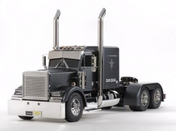 Tamiya Grand Hauler Matte Black Edition RC-Truck 1:14 Baus..