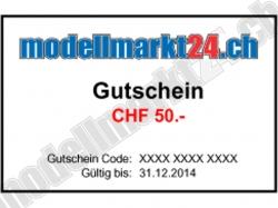 Geschenkgutschein CHF50.-