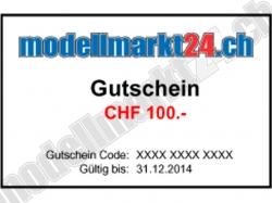 Geschenkgutschein CHF100.-
