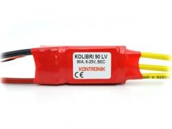 Kontronik Kolibri 90LV Brushless ESC mit BEC 9V/10A