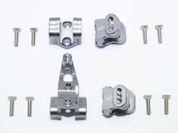 ALUMINUM FRONT/REAR AXLE MOUNT SET FOR SUSPENSION LINKS Si..