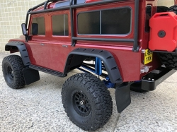 TRX4 POLYURETHANE FRONT / REAR SKID PLATE UPGRADE KIT -16 ..