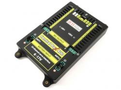Jeti Central Box CB400 mit 2x Sat2 und RC-Switch