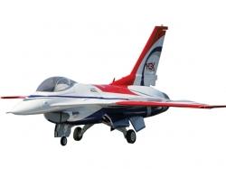 PremierAircraft F-16 QQ PNP 3D Jet rot 1667mm mit Aura 8