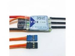 YGE 35A LVT Regler Brushless ESC mit BEC 5.5V-8.4V/ max 10A