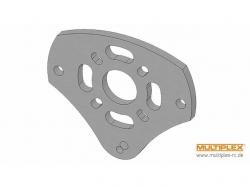 Motorspant -Alu für FunJet Ultra von Multiplex