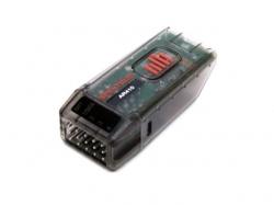 Spektrum Empfänger AR410 4-Kanal DSM2/DSMX inkl Telemterie