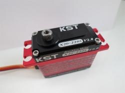 KST X20-2208 V2.0 Brushless titanium gear servos
