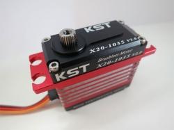 KST X20-1035 V2.0 Brushless titanium gearbox rear servos