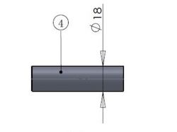 PTFE-Pipe/Teflonschlauch zu Kanisteranlage DLE20RA