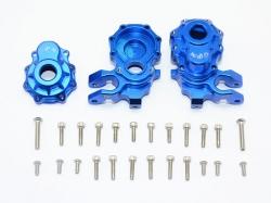 ALUMINUM FRONT KNUCKLE ARMS Blau - 28PC SET