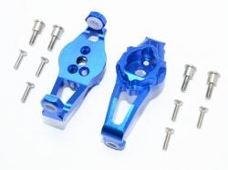 ALUMINUM FRONT C HUBS Blau -12PC SET