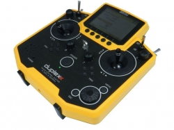 Jeti Hand-Sender DS-12 Multimode gelb 2.4Ghz