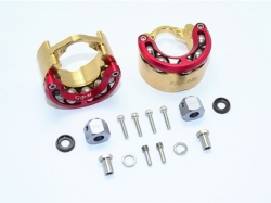 BRASS PENDULUM WHEEL KNUCKLE AXLE WEIGHT WITH ALLOY LID Ro..