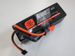 Spektrum 5000mAh 4S 14.8V 30C Smart LiPo, IC5, Hardcase