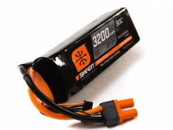 Spektrum 3200mAh 6S 22.2V 30C Smart LiPo, IC5
