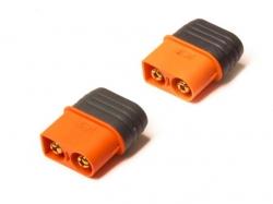 IC3 Stecker mit Isolationsschutz 2 Stück von Spektrum (Reg..