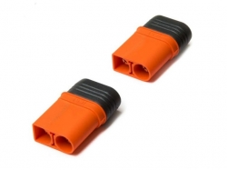 IC5 Stecker mit Isolationsschutz 2 Stück von Spektrum (Reg..