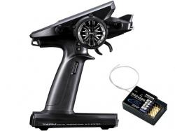 Futaba T4PM Pistolenfernsteuerung 3-Kanal mit Empfänger R3..