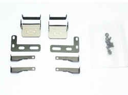 SCALE ACCESSORIES: STAINLESS STEEL SIDE STEP FOR TRX-4 DEF..