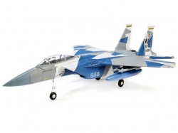 E-Flite F-15 Eagle 64mm EDF BNF 715mm mit AS3X und Safe Se..