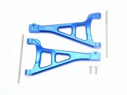 ALUMINUM FRONT UPPER SUSPENSION ARM Blau -6PC SET