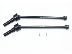 #45 HARDEN STEEL CVD FOR FRONT / REAR Schwarz -4PC SET
