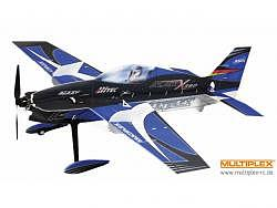 Multiplex BK Slick X360 4D Indoor Edition, blau Spw.930mm, RC-Modellflugzeu