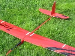 Rumpf RCRCM Tomcat CFK+ Rot Seglerversion inkl. Kabinenhaube