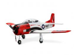E-Flite T-28 Trojan Spw.1'225mm BNF mit AS3X in Top-Ausstattung