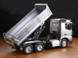Tamiya MB Arocs 3348 6x4 Tipper Truck & Actuator Set, RC-Truck 1:14 Bausatz