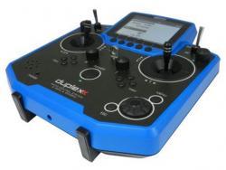 Jeti Hand-Sender DS-12 Multimode blau 2.4Ghz